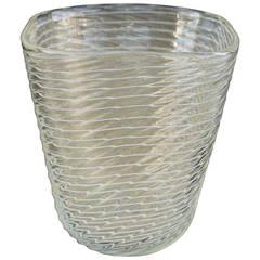 Ercole Barovier Zebratto Vase