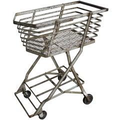 Streamline Machine Age Shopping Cart