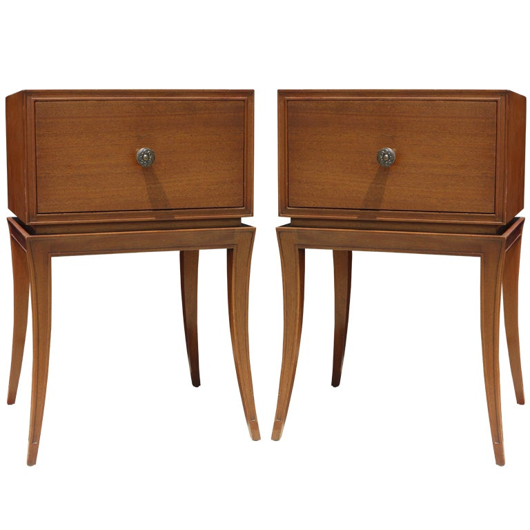 Pair of End Tables by Orsengio