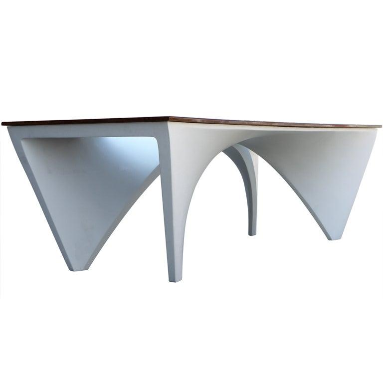 Architectural Dining Table by Studio L'Opere ei Giorni