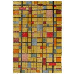 Mid-Century Turkish Modern Carpet