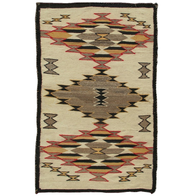 Antique Navajo Rug At 1stdibs