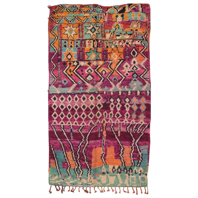 Colorful Moroccan For Sale