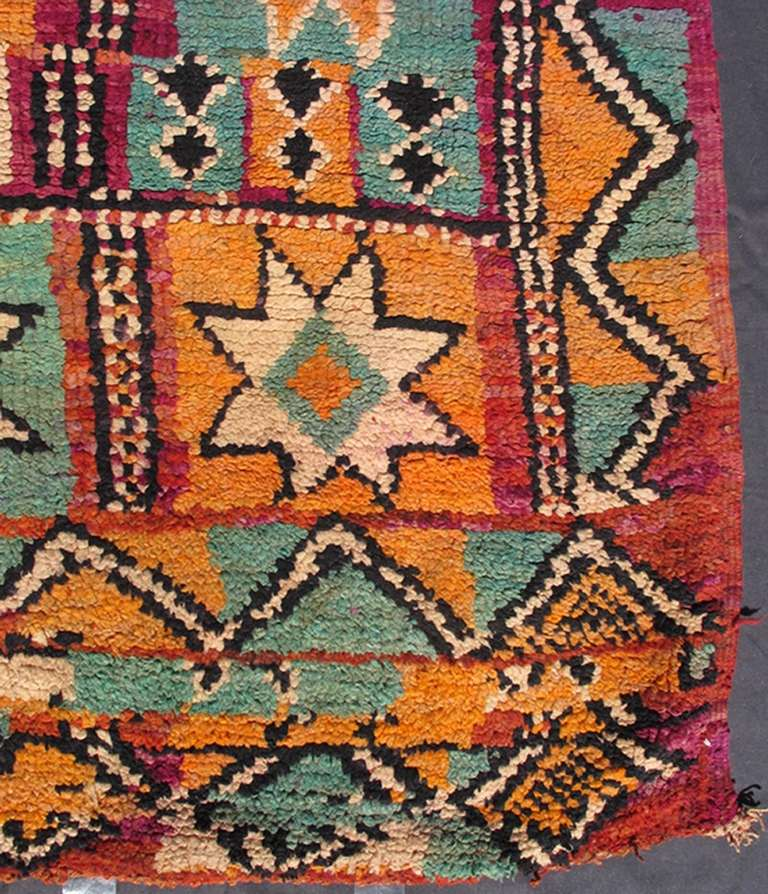 Tribal Colorful Moroccan For Sale