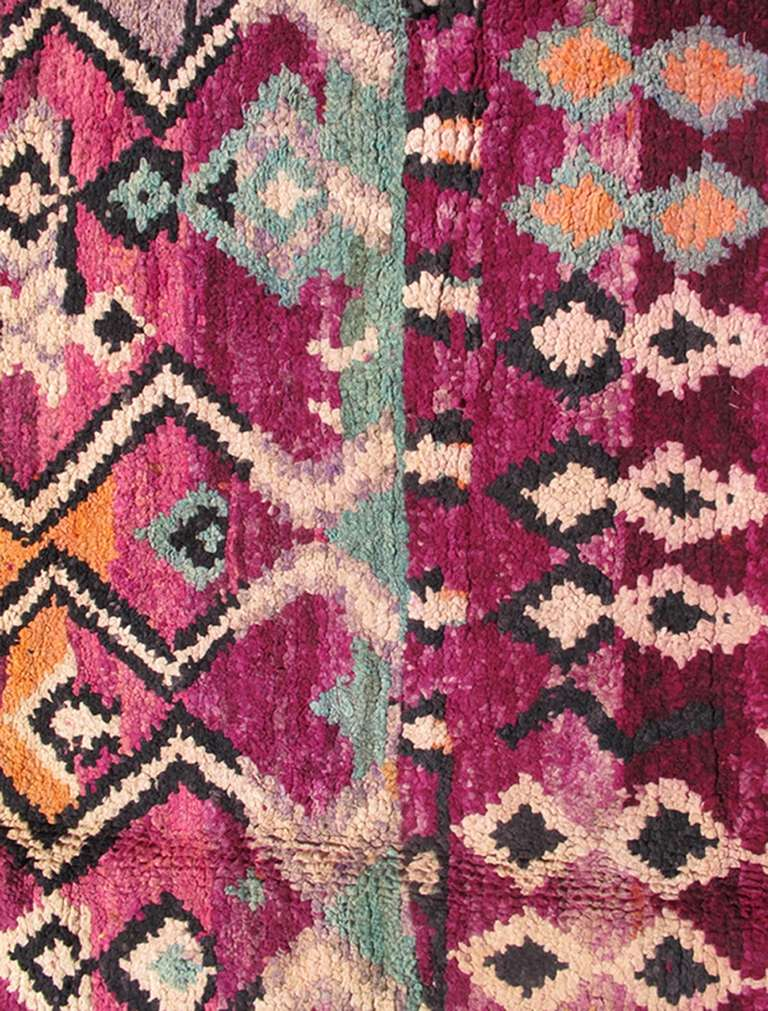 Mid-20th Century Colorful Moroccan For Sale