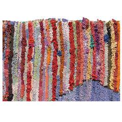Vintage Moroccan Rag Rug