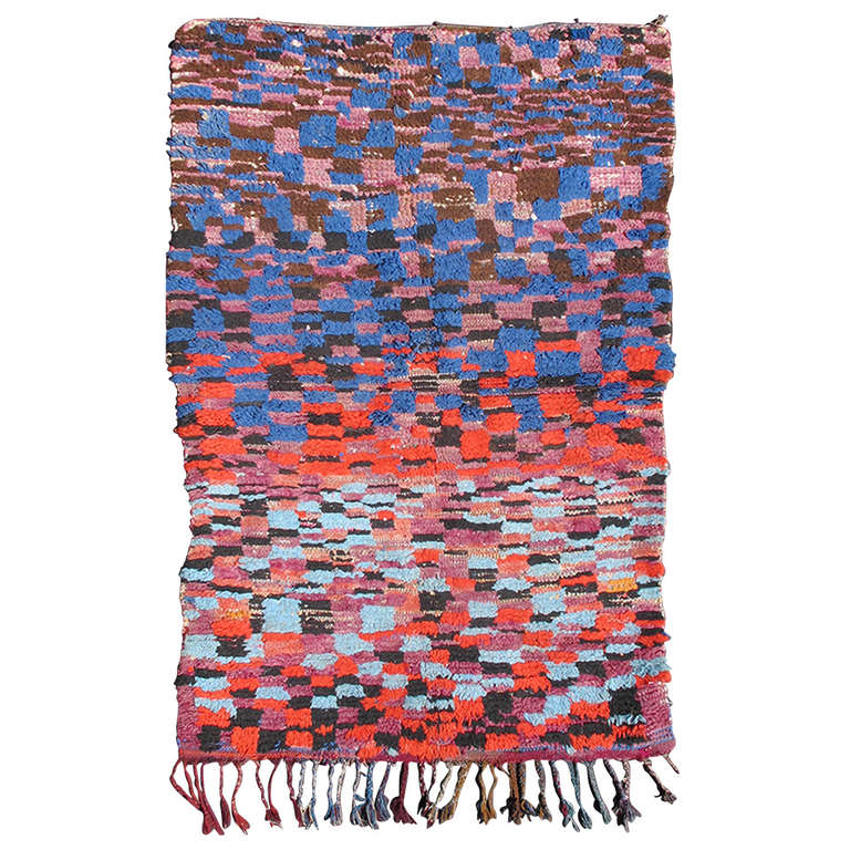 Vintage Moroccan Rug For Sale At 1stdibs