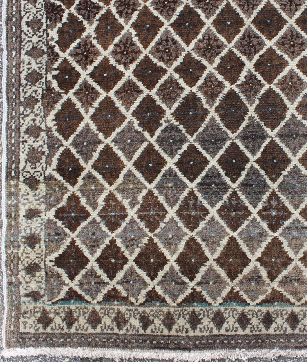Turkish Rug With Unique Design For Sale At 1stdibs