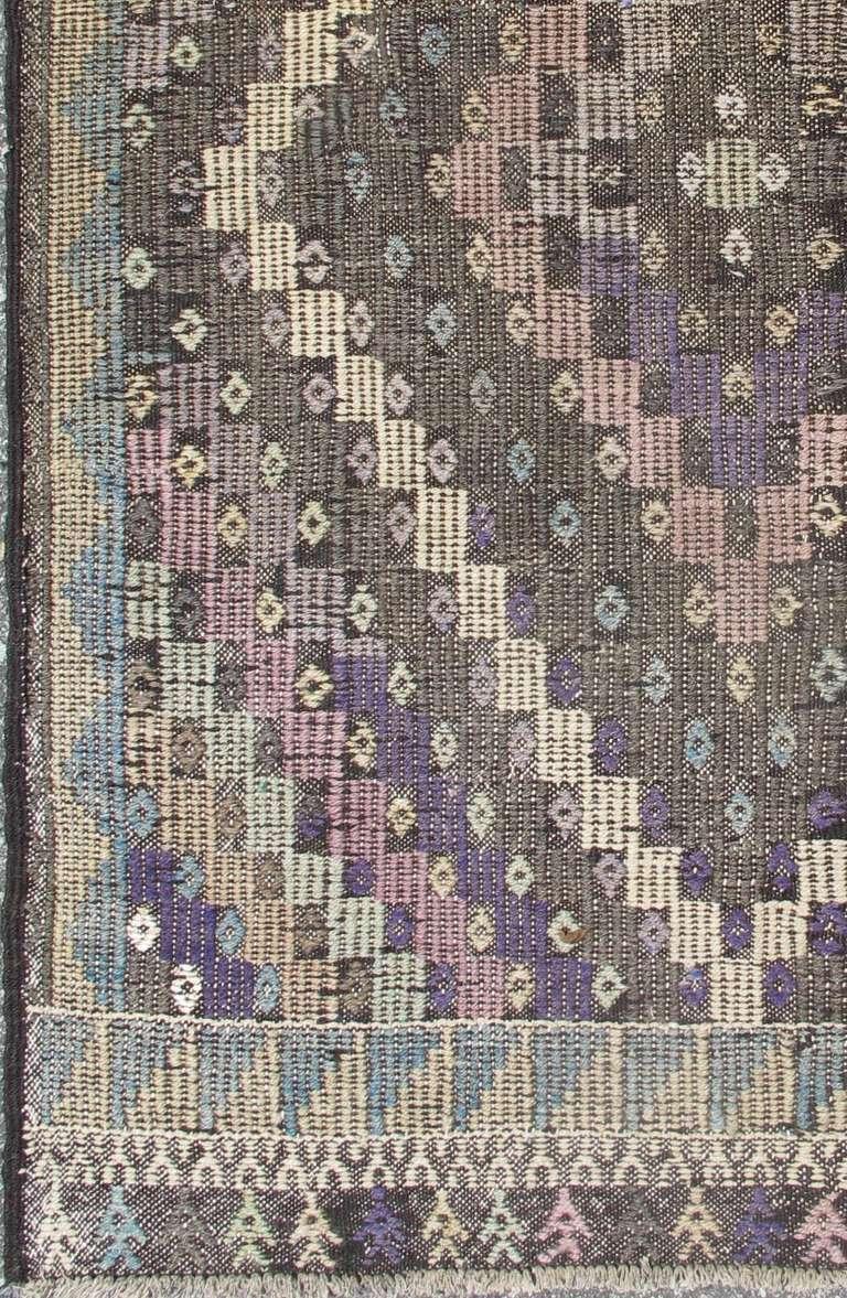 Vintage Turkish Kilim Rug For Sale At 1stdibs