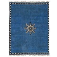Large Vintage Moroccan Rug