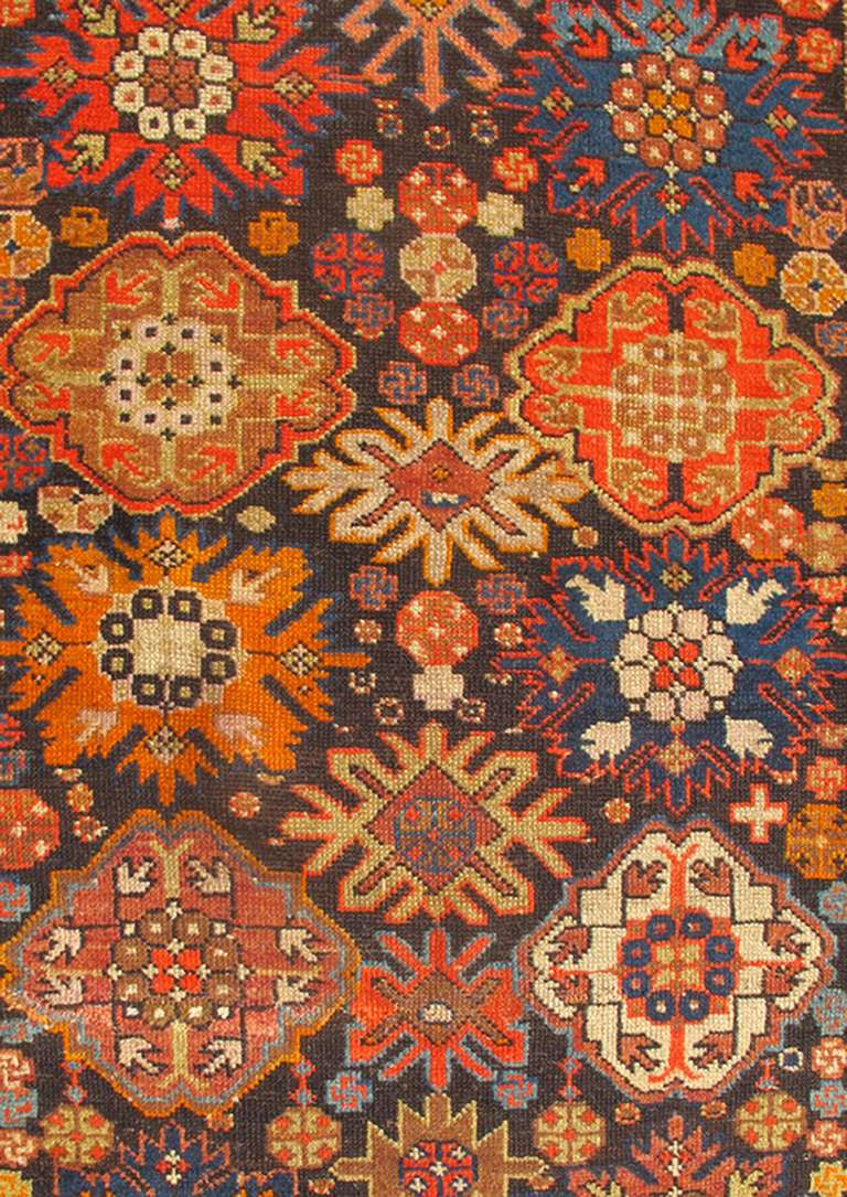 Colorful caucasian rug for sale at 1stdibs for Colorful rugs for sale