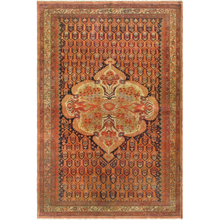 Antique Persian Mission Malayer Rug At 1stdibs