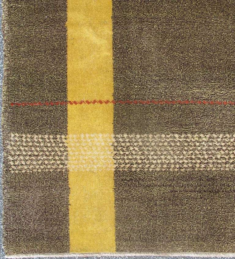 Turkish Mid Century Modern Rug 2