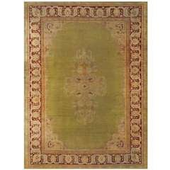 Large Antique Amritsar Carpet