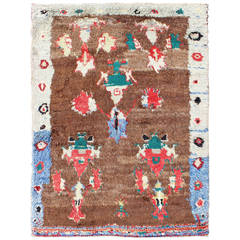 Colorful Antique Tulu Rug