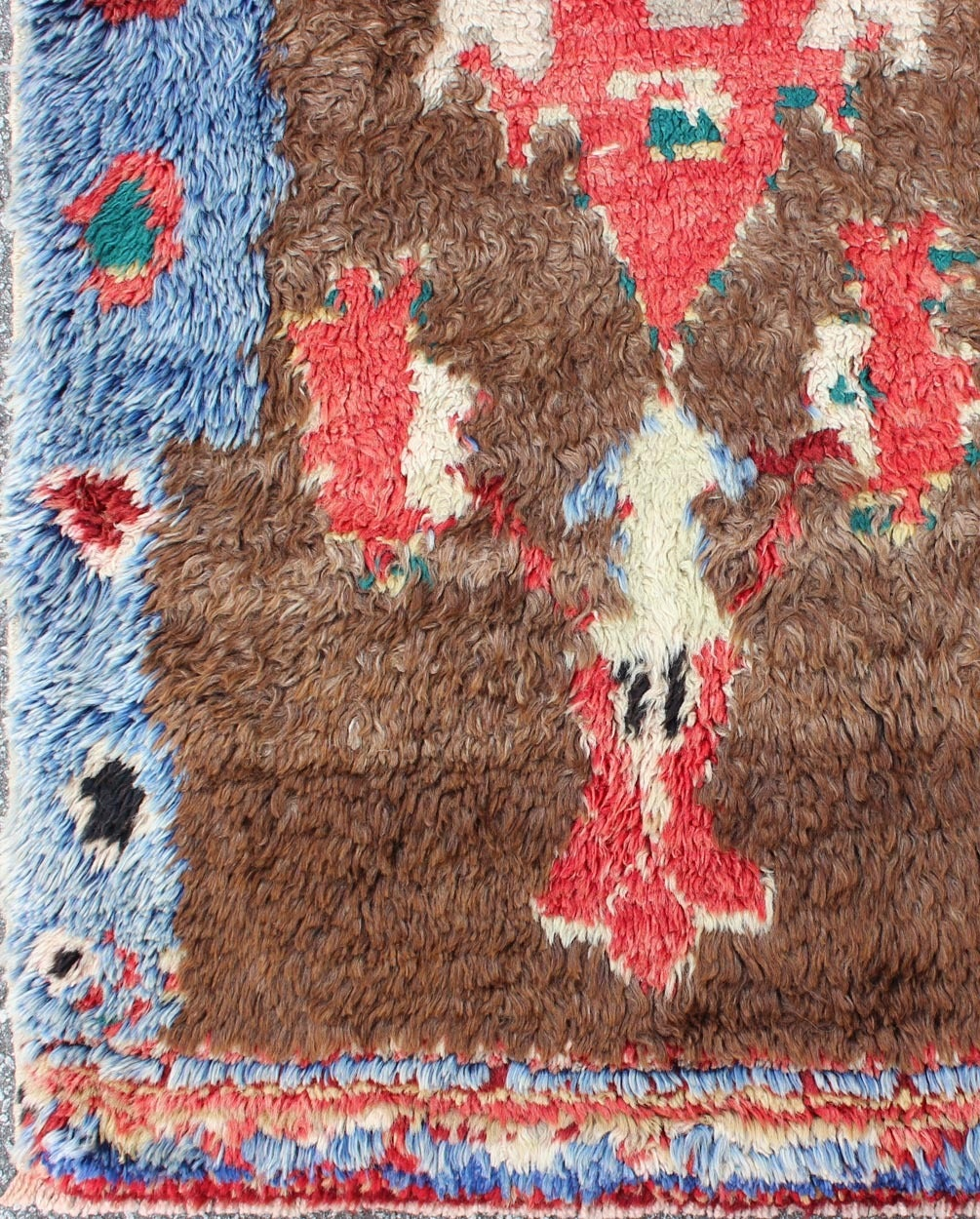 Colorful Antique Tulu Rug 3