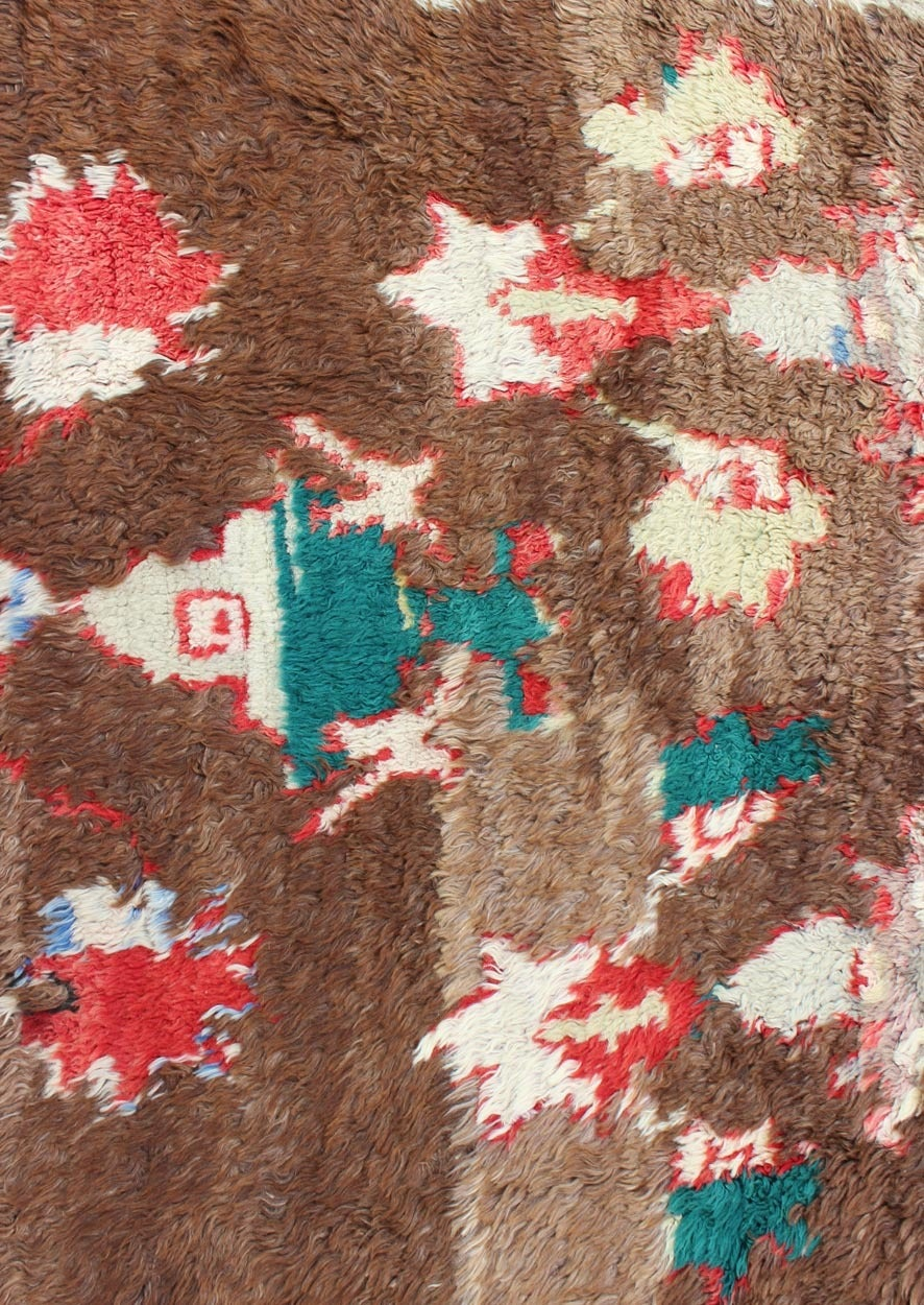 Colorful Antique Tulu Rug 5