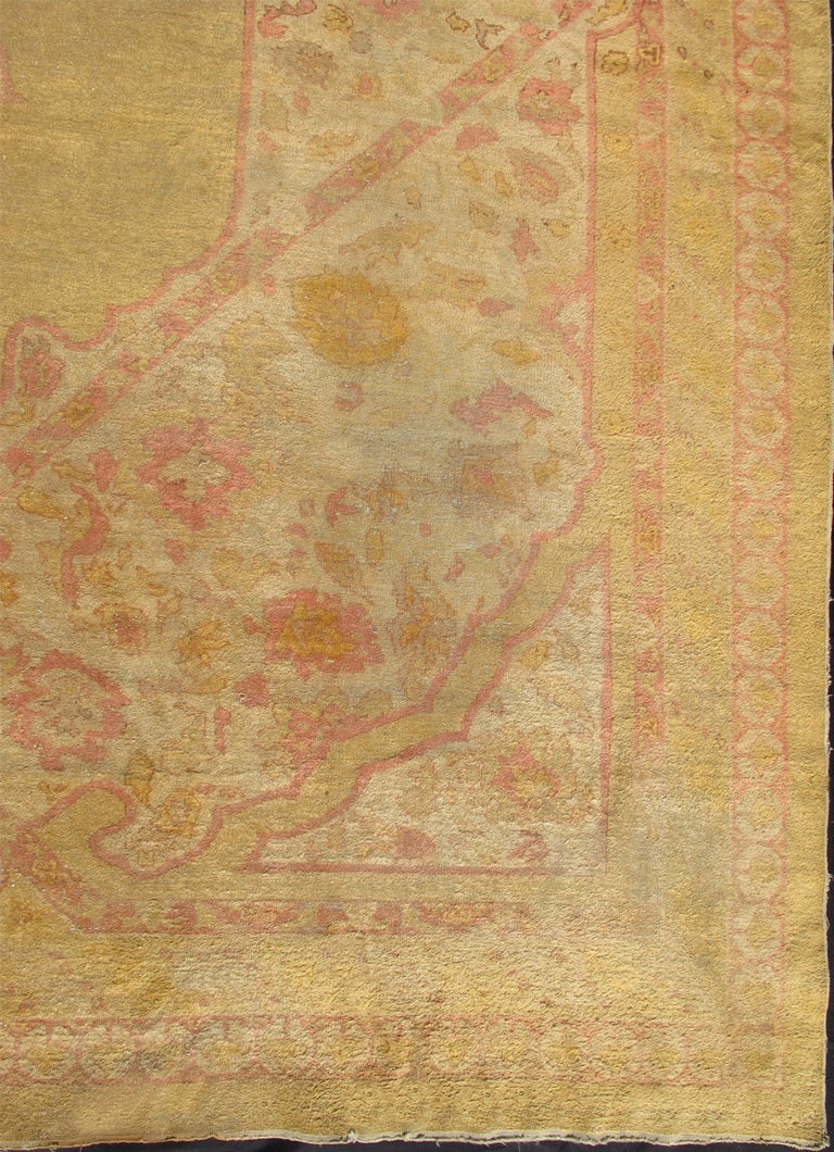 Antique Indian Amritsar Rug At 1stdibs