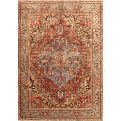 Large Persian Heriz Rug