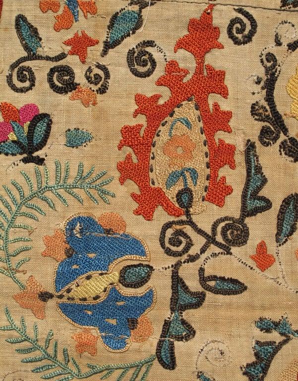 Antique Uzbekistan Suzani Embroidery For Sale 1