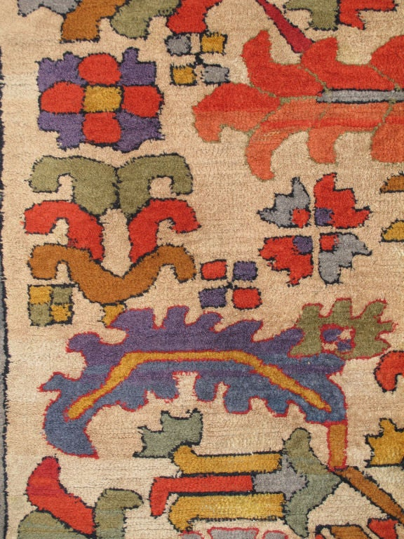 Antique German Bauhaus Carpet At 1stdibs