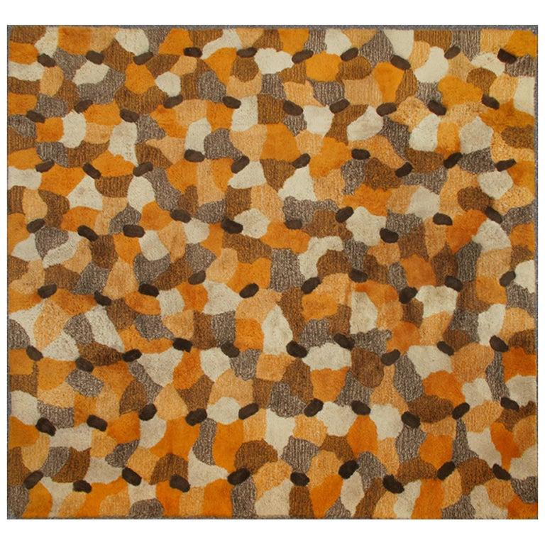 mid-century modern rug at 1stdibs
