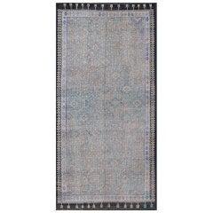 Large Vintage Jajeem Flat-Weave Rug