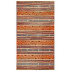 Vintage Kilim Jajeem Flat-Weave Rug