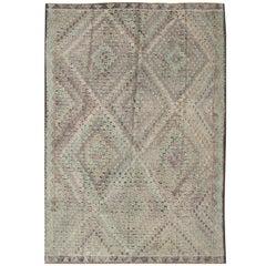 Vintage Jajeem Flat-Weave Rug