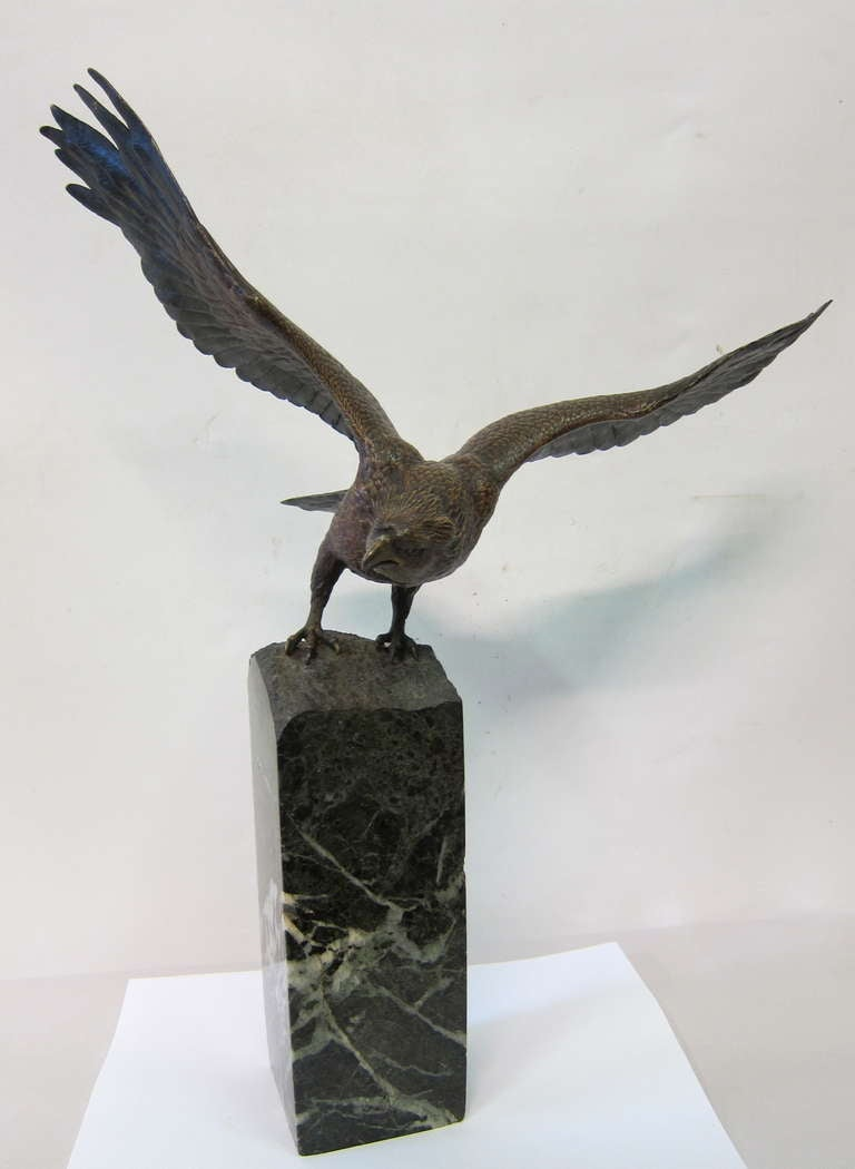 Vienna Bronze Eagle By Bergman At 1stdibs