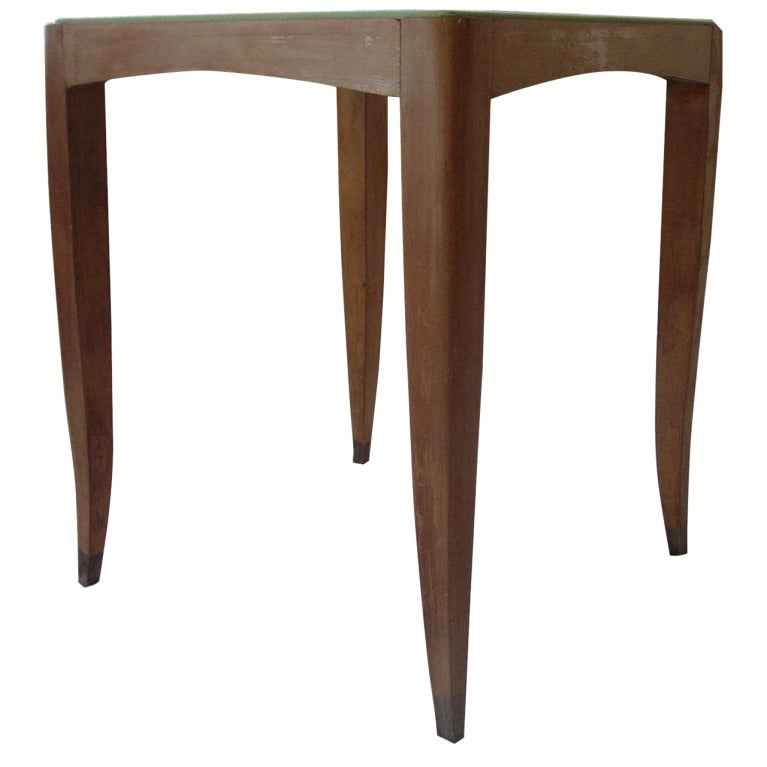 Vintage modern french table at 1stdibs for Contemporary game table and chairs