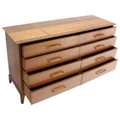 Mid-Century Modern Walnut Long Dresser by Henredon