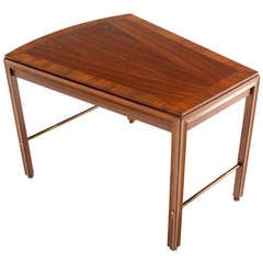 Mid Century Modern Solid Walnut Side or Coffee Table
