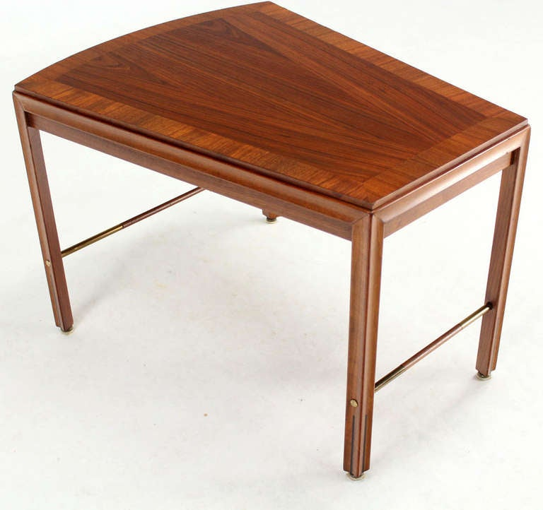 Mid Century Modern Solid Walnut Side Or Coffee Table For
