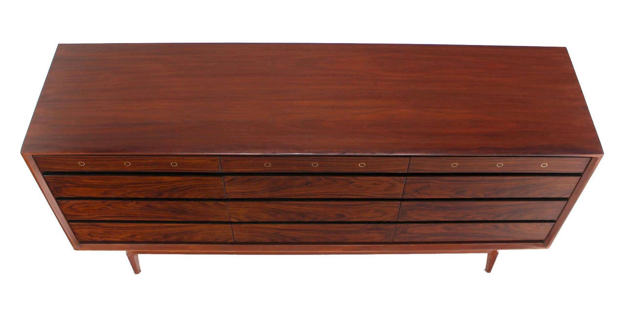 walnut cabinets kitchen pictures rosewood and walnut midcentury modern twelve drawer 6989