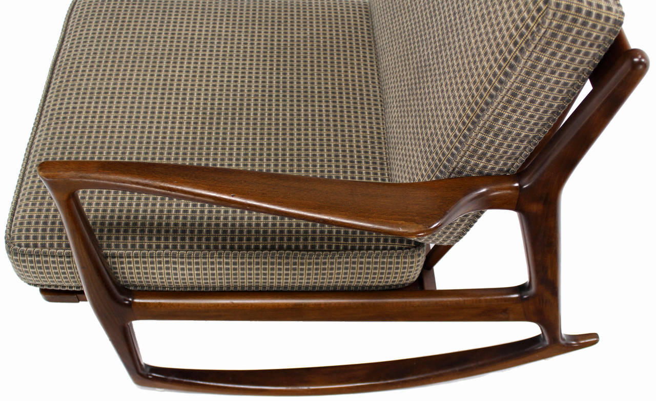 this danish modern mid century rocking chair by selig is no longer