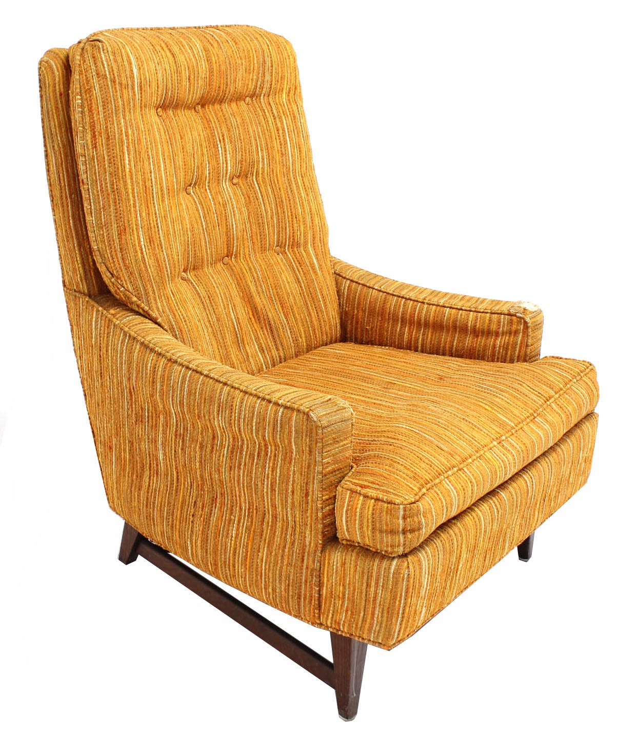 Selig lounge chair and matching ottoman with upholstery at for Matching lounge furniture