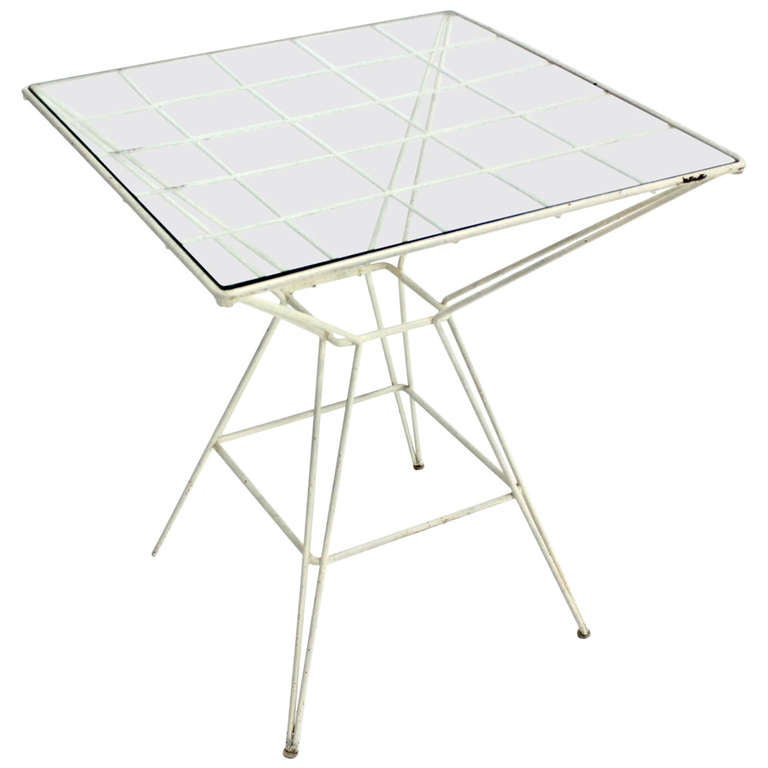 Eiffel Tower Style Cafe Table By Mattieu Matégot. U0027