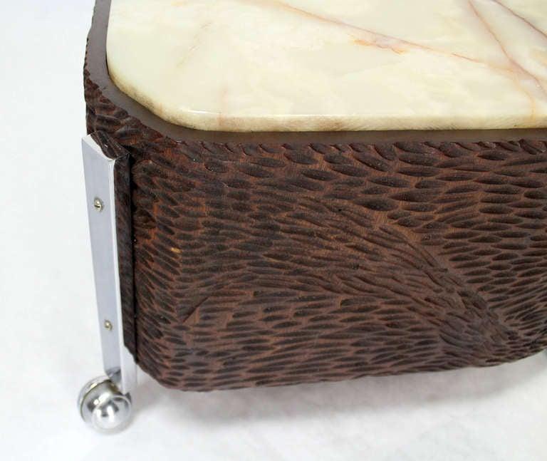 Five Piece Organic Shape Mid Century Modern Coffee Table 2