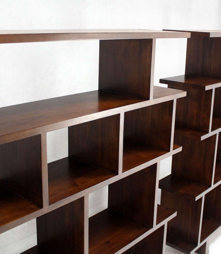 ... of Large Open Back Bookcases Shelves Wall Units Room Dividers image 5