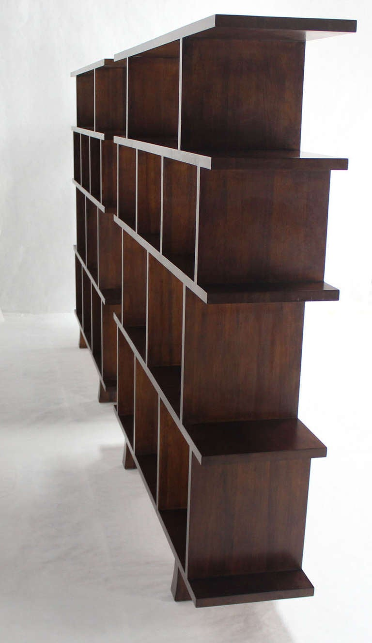 ... of Large Open Back Bookcases Shelves Wall Units Room Dividers image 10