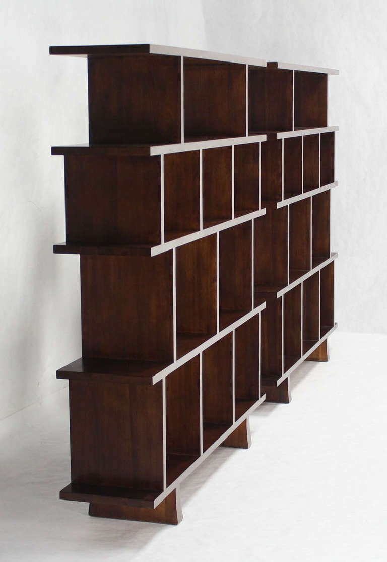 ... of Large Open Back Bookcases Shelves Wall Units Room Dividers image 8