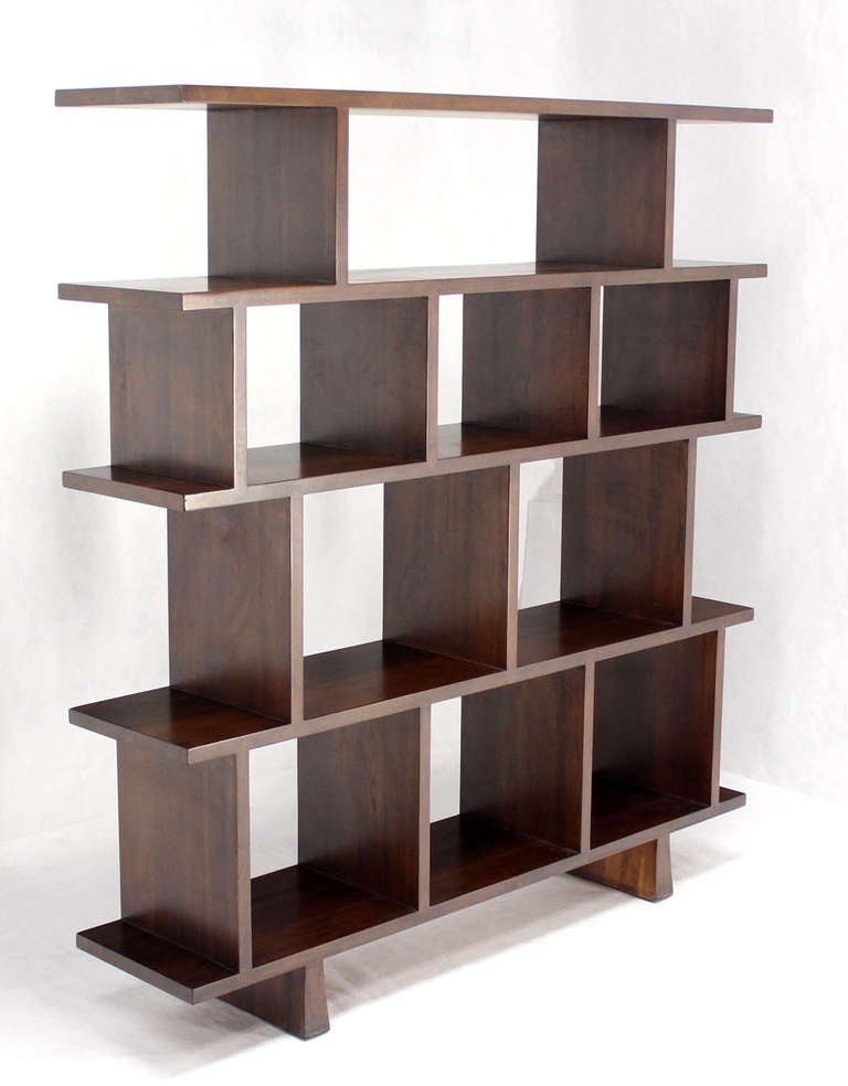 ... of Large Open Back Bookcases Shelves Wall Units Room Dividers image 7