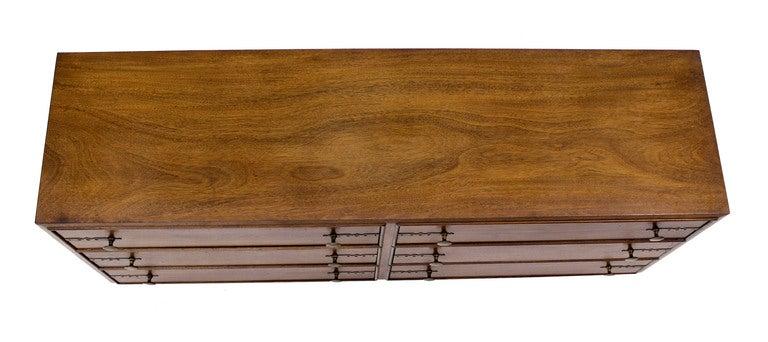 Johnson for John Stuart Mid-Century Modern Walnut Dresser 6