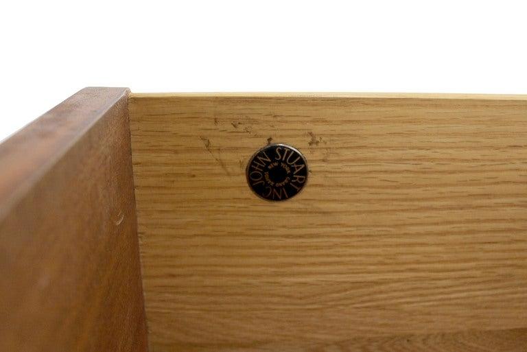 Johnson for John Stuart Mid-Century Modern Walnut Dresser 8