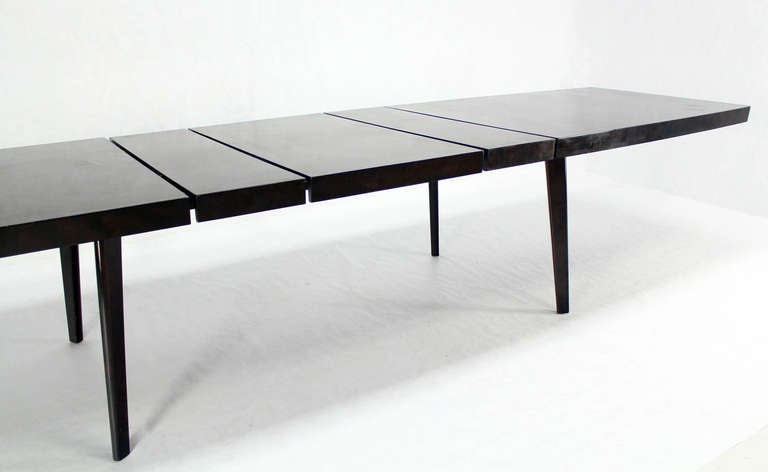 Mid Century Modern Dunbar Dining Or Conference Table With