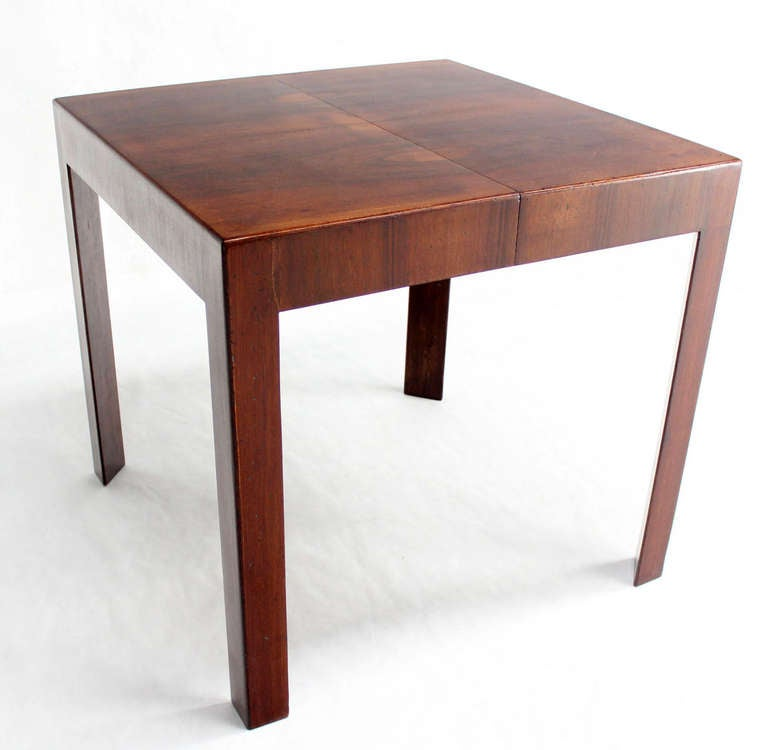 Oiled Walnut Italian Mid Century Modern Game Or Dining