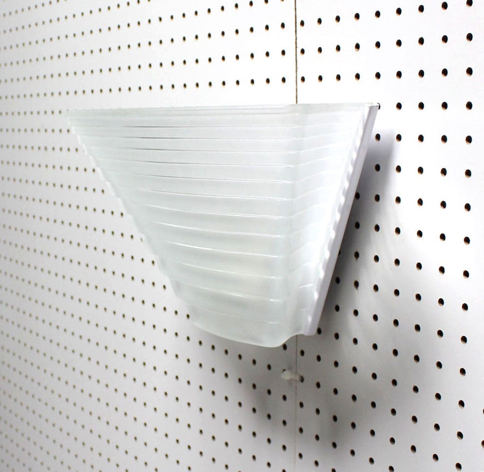 Patterned Glass Wall Lights : Artemide Ribbed Pattern Glass Wall Sconce at 1stdibs