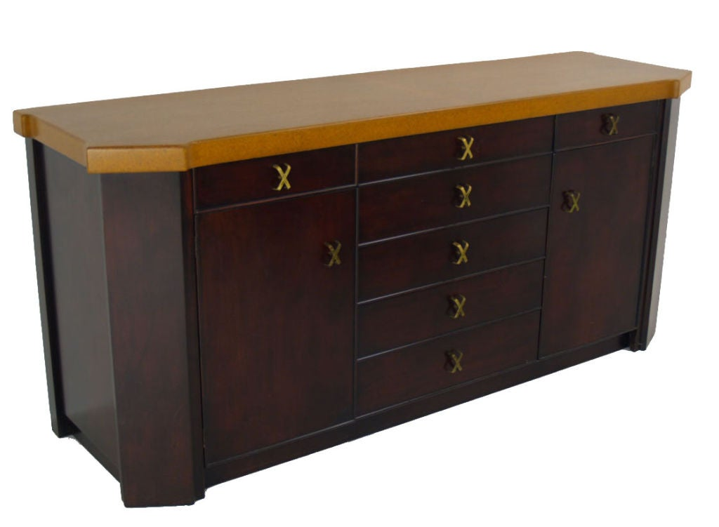 this paul frankl for johnson furniture cork top sideboard is no longer
