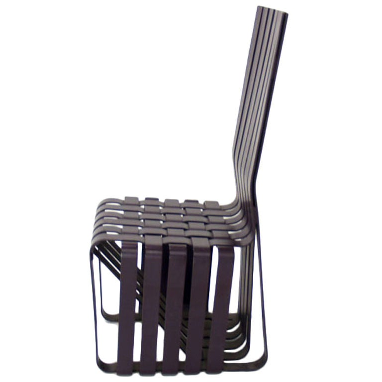 Frank Gehry High Sticking Chair For Knoll At 1stdibs